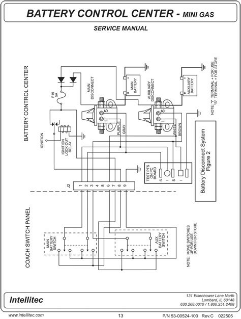 intellitec battery disconnect relay wiring diagram free wiring diagram