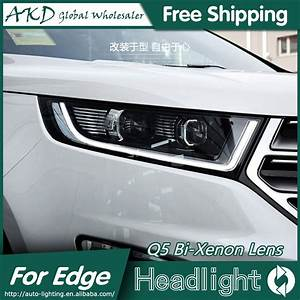 Brightest Led Lights 2015 Akd Car Styling For Ford Edge Headlights 2015 2016 New