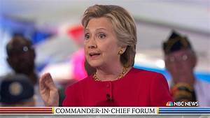 Trump and Clinton on Iraq, ISIS and More Highlights From ...