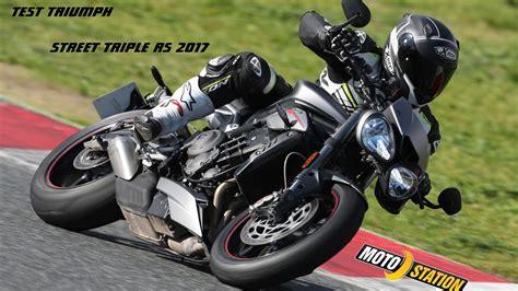 Essai Triumph Street Triple Rs 2017… Mixisfr