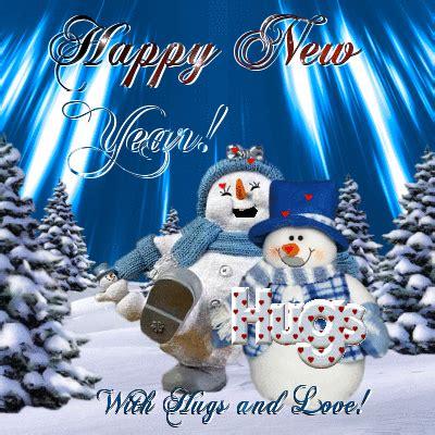 hugs  love  happy  year ecards greeting