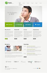 Consulting Responsive Website Template  44033