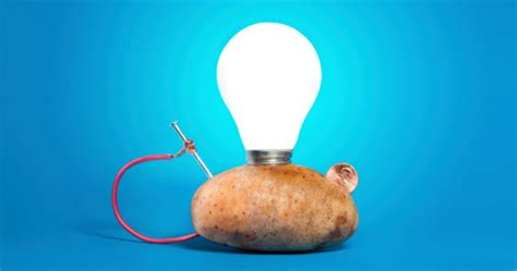 power a light bulb with a potato dating