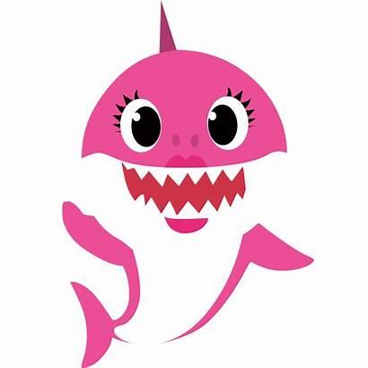 Shark Mommy Characters Clipart Mama Birthday Doo