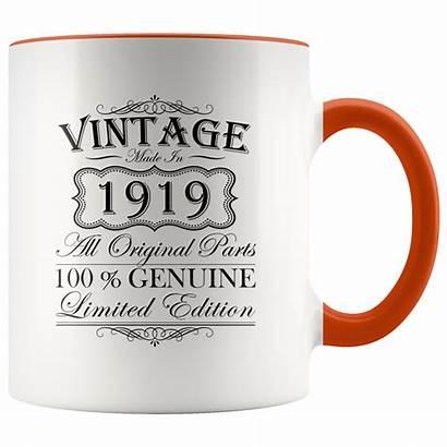 Birthday Mug Gift 90th Coffee Born Accent