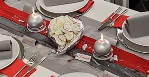 Tischdekoration Silberhochzeit Ideen : tischdekoration zur silberhochzeit grau mit rot kombiniert tischdeko zur silberhochzeit ~ Frokenaadalensverden.com Haus und Dekorationen