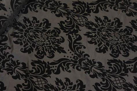 floral taffeta damask velvet flock upholstery
