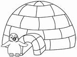 Igloo Coloring Pages Printable Getcoloringpages Sheets Colour Letter sketch template