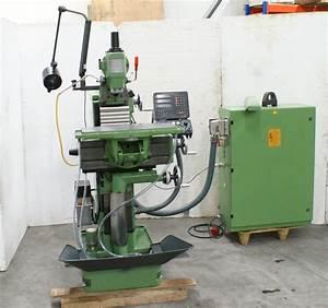 Deckel Fp1 2102 Milling Machine