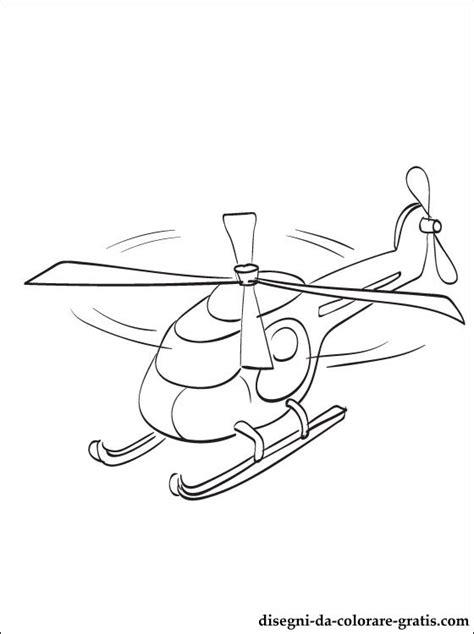 disegno elicottero da stampare disegni da colorare gratis