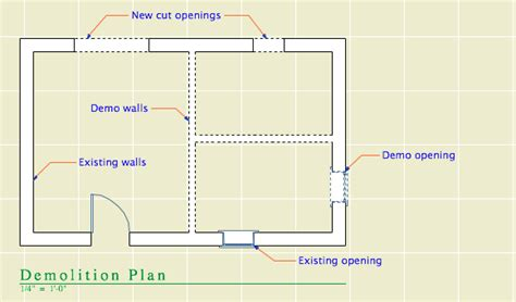 demolition plan template on land template archives