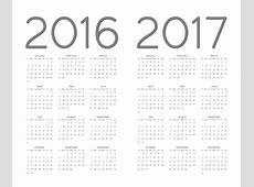 2016 Calendar Template Vector Free Download Vecto2000com