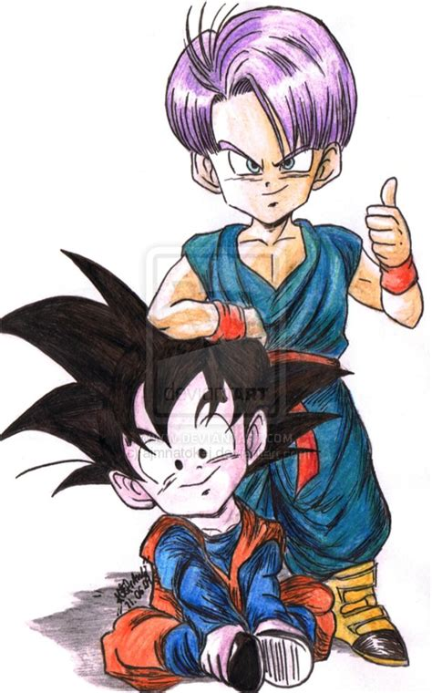 dragon ball  wallpapers kid trunks