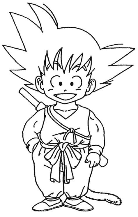 Como Dibujar a Goku Mundo Anime
