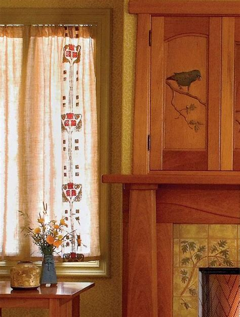 arts and crafts curtains shirred curtains photos