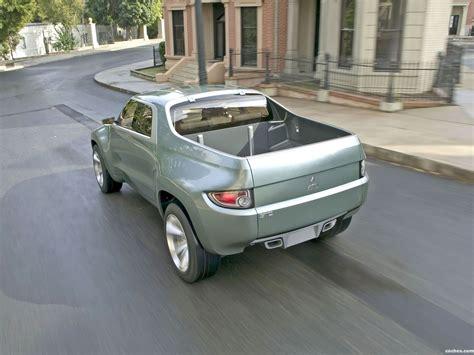 Fotos De Mitsubishi Sport Truck Concept Stc 2004 Foto 4