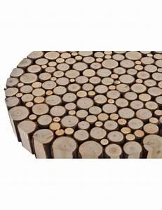 Rondin De Bois Table : achat table basse rectangulaire rondin de bois pas cher ~ Teatrodelosmanantiales.com Idées de Décoration