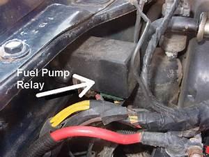 1998 Ford Ranger Fuel Pump Relay Location