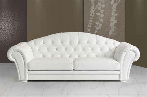 canap cuir blanc 3 places canape 3 places cuir blanc sofamobili