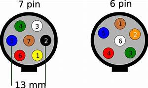 Trailer Wiring Diagram 7 Pin Round