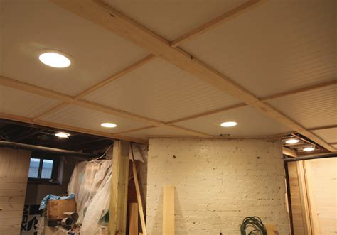 basement ceiling ideas on a budget