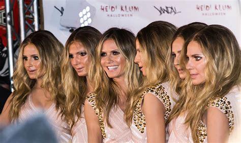 Heidi Klum Clones Herself For Halloween Party Celebrity