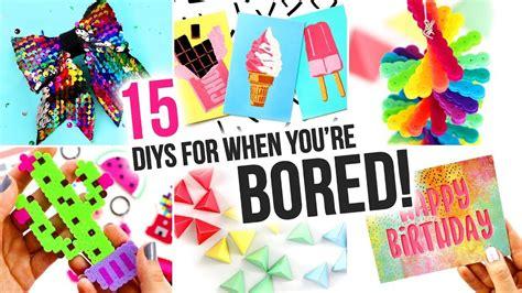15 easy diys to do when youre bored