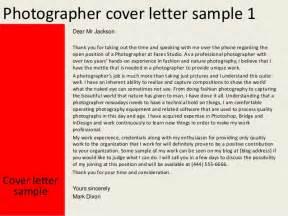 resume for wildlife photographer photographer cover letter
