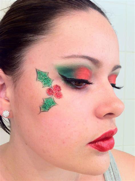 christmas makeup holiday party makeup christmas makeup  christmas elf makeup