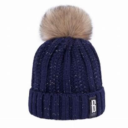 Bonnet Hiver Femme Chapeau Pompon Chaude Winter