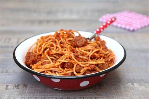 pates a la bolognaise maison spaghetti bolognese