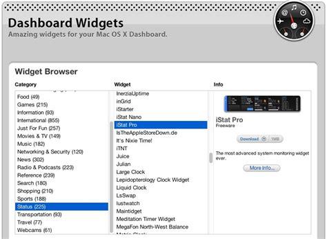 apples dashboard widget  site  os  broken