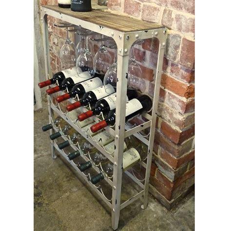 antique white wine rack  bottle drinkstuff