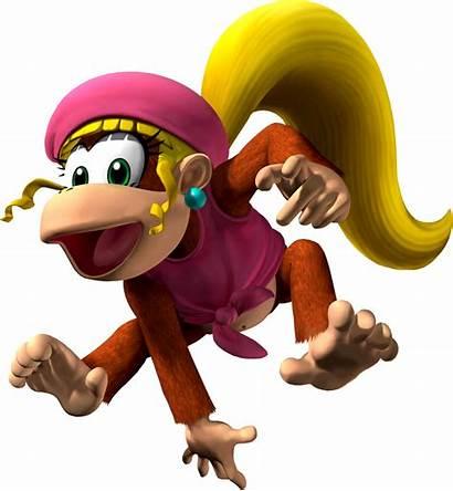 Kong Dixie Donkey Smash Characters Mario Bros