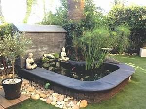 Idee Amenagement Jardin : parterre exterieur jardin idee deco bambou jardin inds ~ Melissatoandfro.com Idées de Décoration
