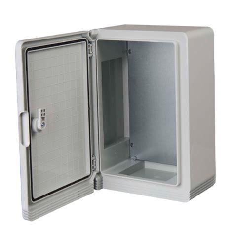 200x300x130mm Ip65 Abs Enclosure With Solid Door  Qvs Direct