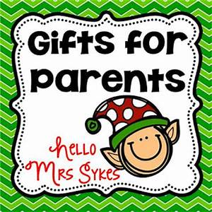Easy Peasy Gifts for Parents from Your Students Hello