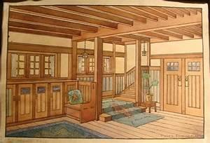 Gustav Stickley Craftsman Homes Interiors Arts & Crafts