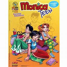 Livro  Monica Teen Everyday Adventures  Volume 01  In English  Outros Quadrinhos No Extra