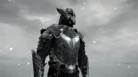 1080p Fallout 4 Wallpaper Spoa Silver Knight Armor At Skyrim Nexus Mods And Community