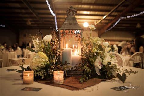 wedding lantern decorations gorgeous romantic lantern centerpiece with flowers and burlap bridesmaid rena pinterest