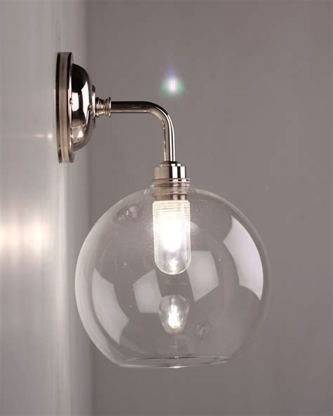 Globe Bathroom Light Fixtures by Hereford Globe Bathroom Wall Light In 2019 Bathroom