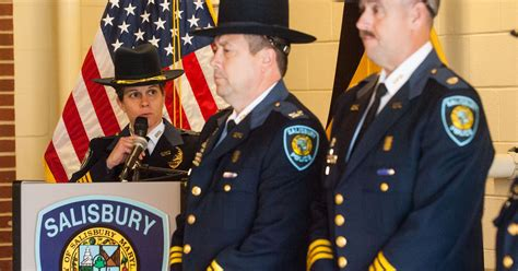 Salisbury police promotions announced today