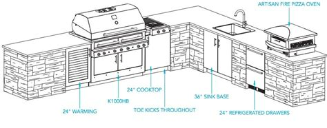 outdoor kitchen island plans outdoor kitchen plans kalamazoo outdoor gourmet
