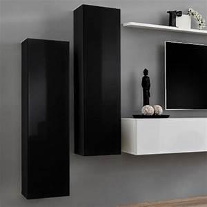 Meuble Tv Accroché Au Mur : meuble tv mural suspendu cool meuble tv mural suspendu design laqu blanc noir belgique with ~ Preciouscoupons.com Idées de Décoration