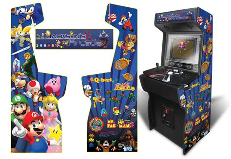 Xtension Arcade Cabinet Graphics by 187 Customer Submitted Custom Permanent Size