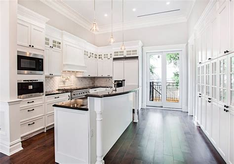 beautiful white contemporary kitchen designs