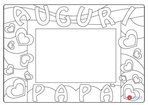 festa del papa cornice disegni da colorare sabbiarelli