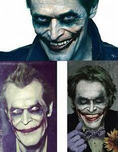 Willem DaFoe Joker Grin by Nick Benaglio | The Joker ...