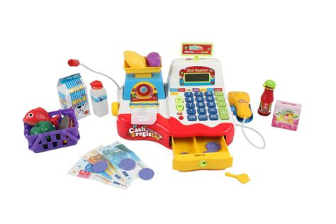 toys r us si鑒e social childrens supermarket register with microphone shop grocery checkout ebay